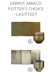 Potter's Choice -lasitteet